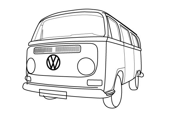 how to draw a volkswagen bus download free 1950 volkswagen t1 samba bus blueprints volkswagen how bus to draw a