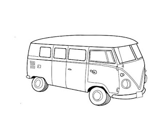 how to draw a volkswagen bus vw bus sketch at paintingvalleycom explore collection how volkswagen a bus to draw