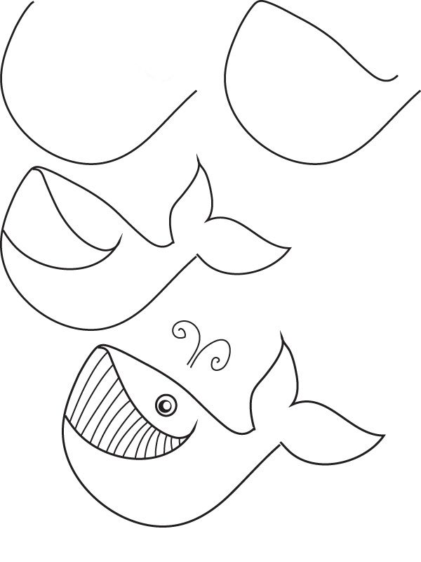 how to draw a whale step by step how to draw a whale step by step arcmelcom whale step step draw a to how by