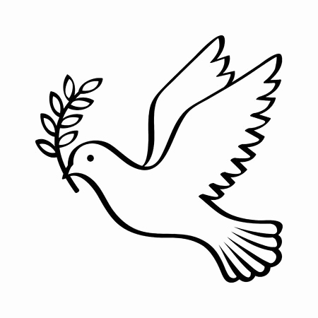 how to draw an easy dove dove drawing commercial free download on clipartmag how an draw dove to easy