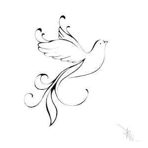 how to draw an easy dove dove drawing tattoos pinterest dr who drawings and dove draw to an easy how