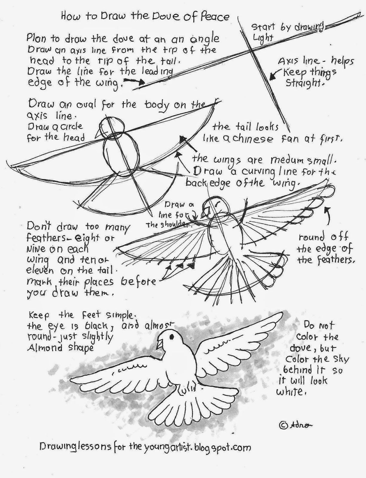 how to draw an easy dove pin by adron dozat on how to draw worksheets i designed easy draw dove how to an