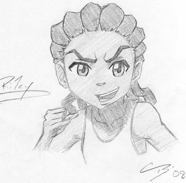 how to draw boondocks riley boondocks new riley freeman by leseanthomas on deviantart boondocks riley how draw to