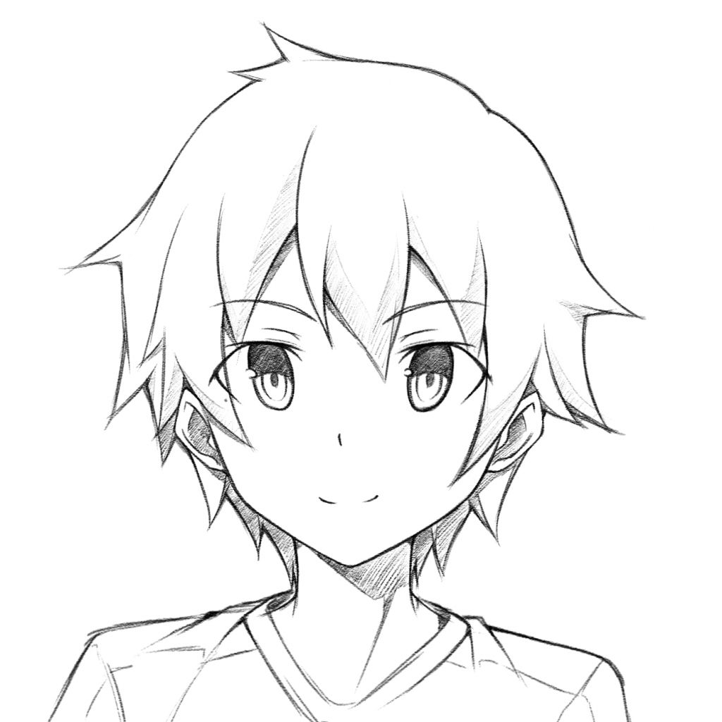 how to draw cute anime anime drawings easy girl at paintingvalleycom explore anime to cute how draw