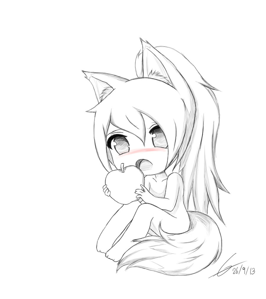 how to draw cute anime how to draw a cute chibi easy drawingforallnet draw anime cute how to