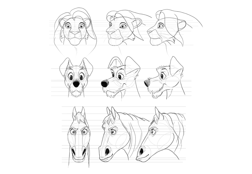 how to draw disney animals 750 best images about disney sketches on pinterest to draw how animals disney