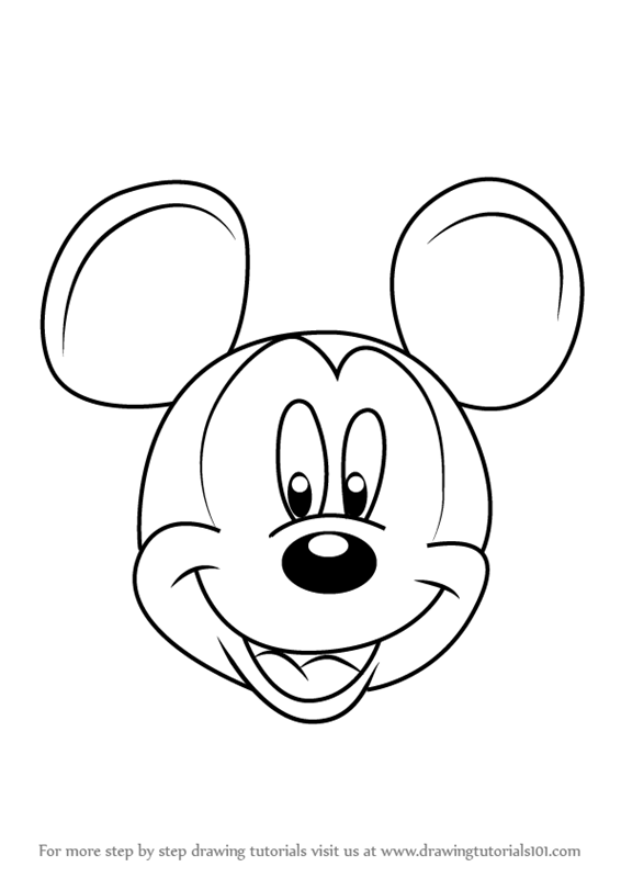 how to draw disney mickey mouse classic mickey disney kids mouse draw mickey to disney how