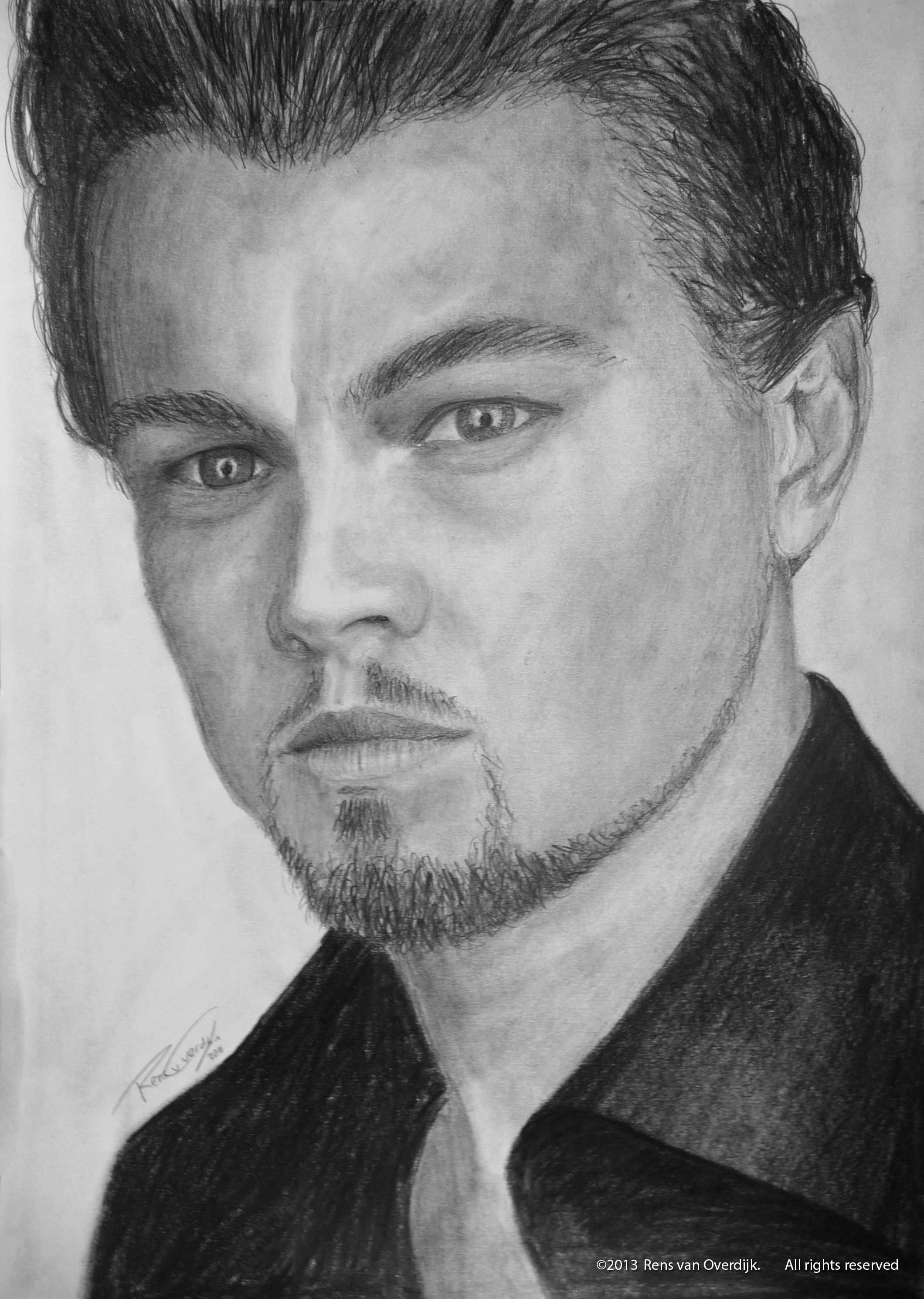how to draw leonardo the great gatsby drawing of leonardo dicaprio 8x10 print to leonardo how draw