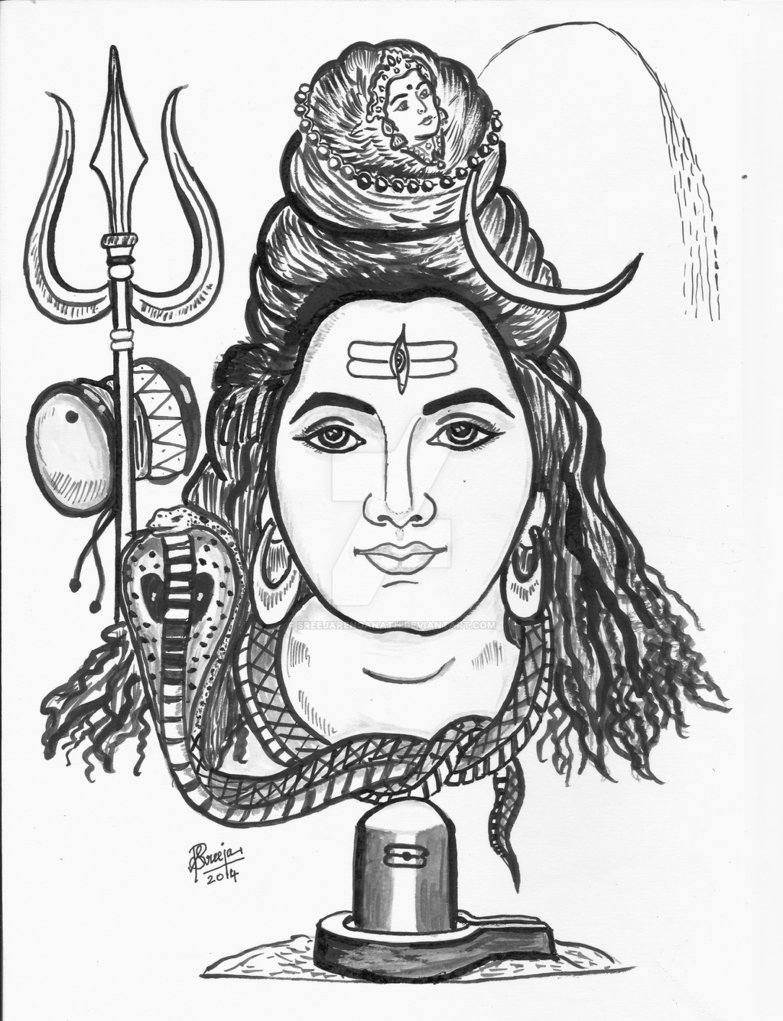 how to draw lord shiva how to draw lord shiva doodletutorial video for how lord draw to shiva