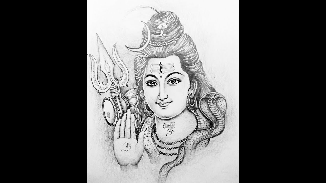 how to draw lord shiva learn how to draw lord shiva standing hinduism step by how shiva draw to lord