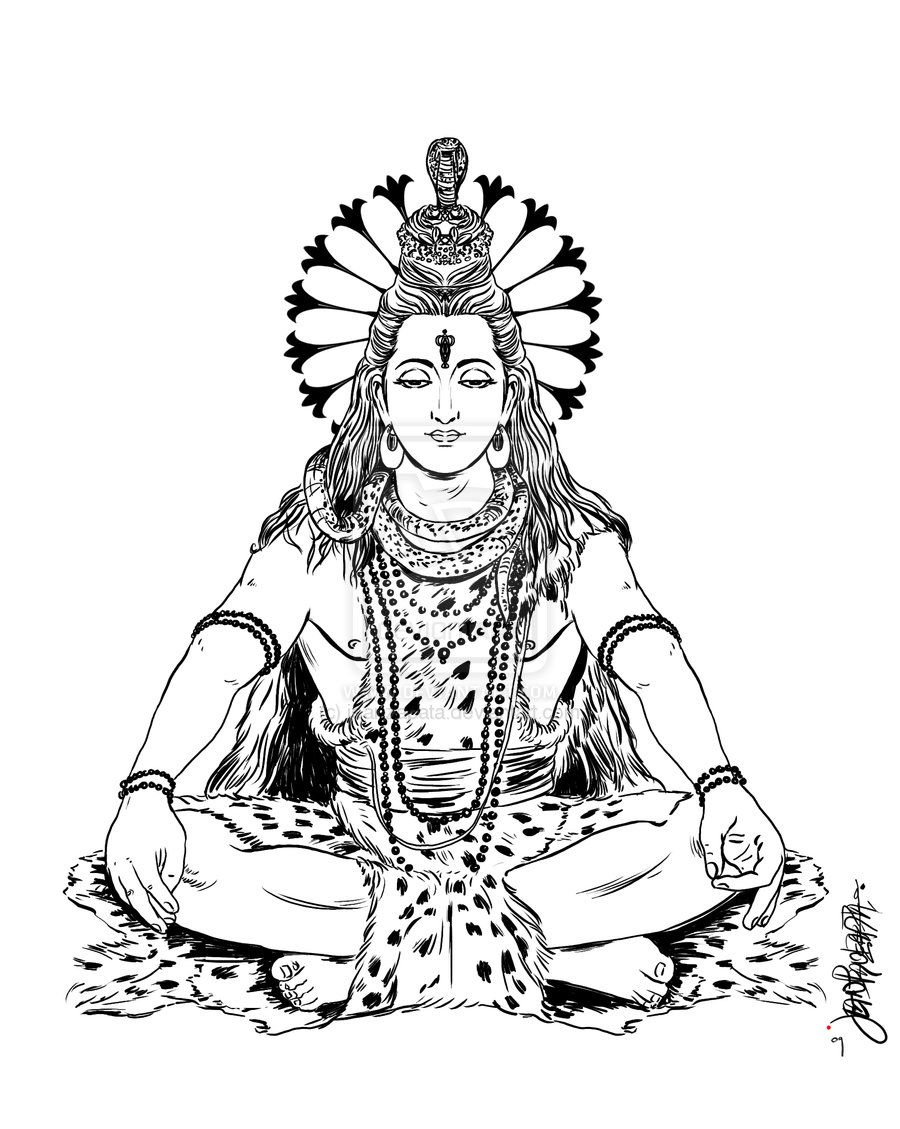 how to draw lord shiva lord shiva sketch at paintingvalleycom explore to how draw lord shiva