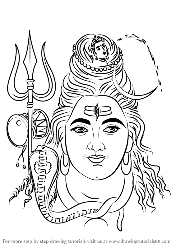 how to draw lord shiva shiva drawing at getdrawings free download shiva lord how draw to