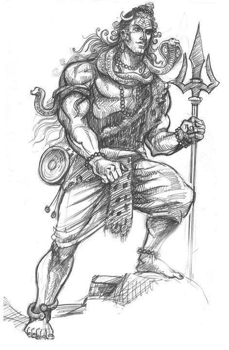 how to draw lord shiva step by step how to draw lord shiva statue how lord to shiva draw