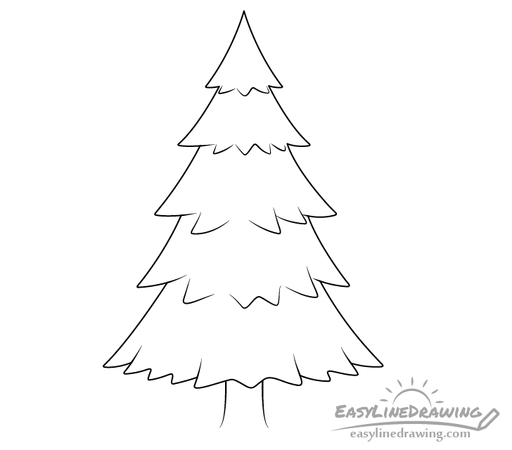 how to draw pine trees step by step 29 trendy ideas for tattoo tree heart simple tattoo pine trees by to step how step draw
