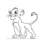 how to draw simba lineart simba adult by princevoldy tlk on deviantart how to draw simba