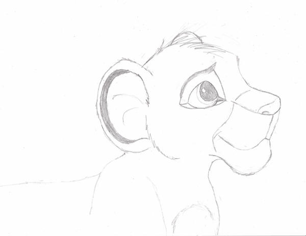 how to draw simba simba drawing at getdrawings free download how simba to draw