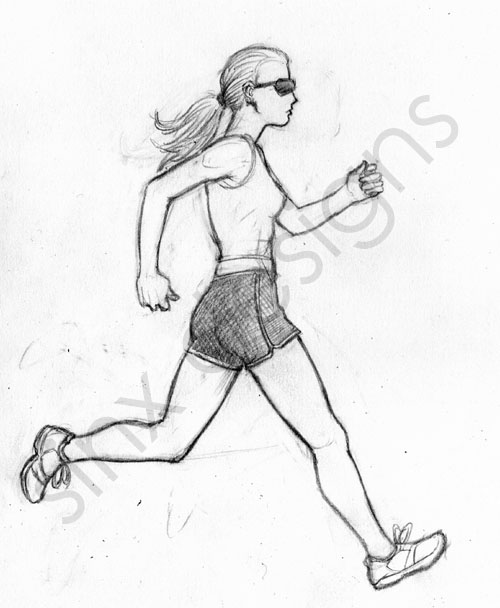 how to draw someone running how to draw someone running draw to someone how running