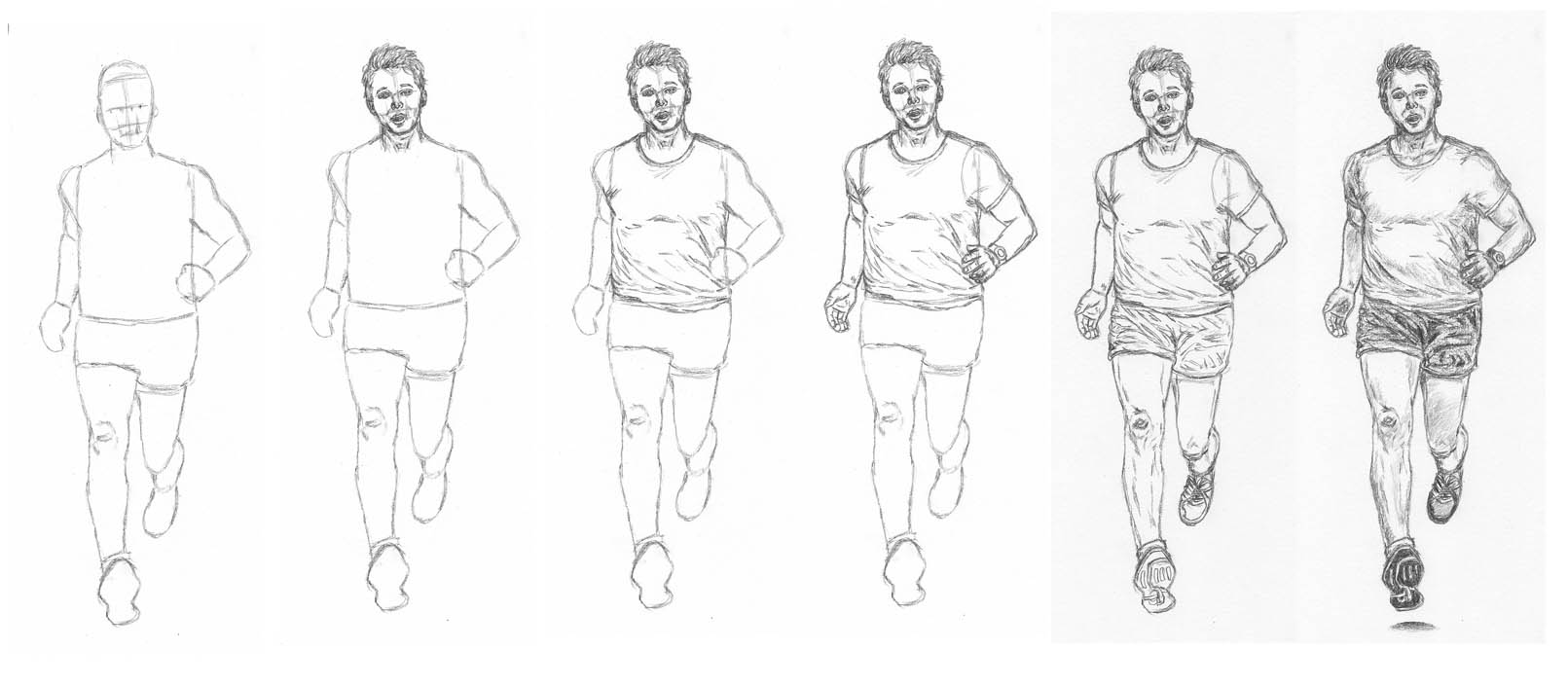 how to draw someone running person running animation clipartsco running someone to how draw