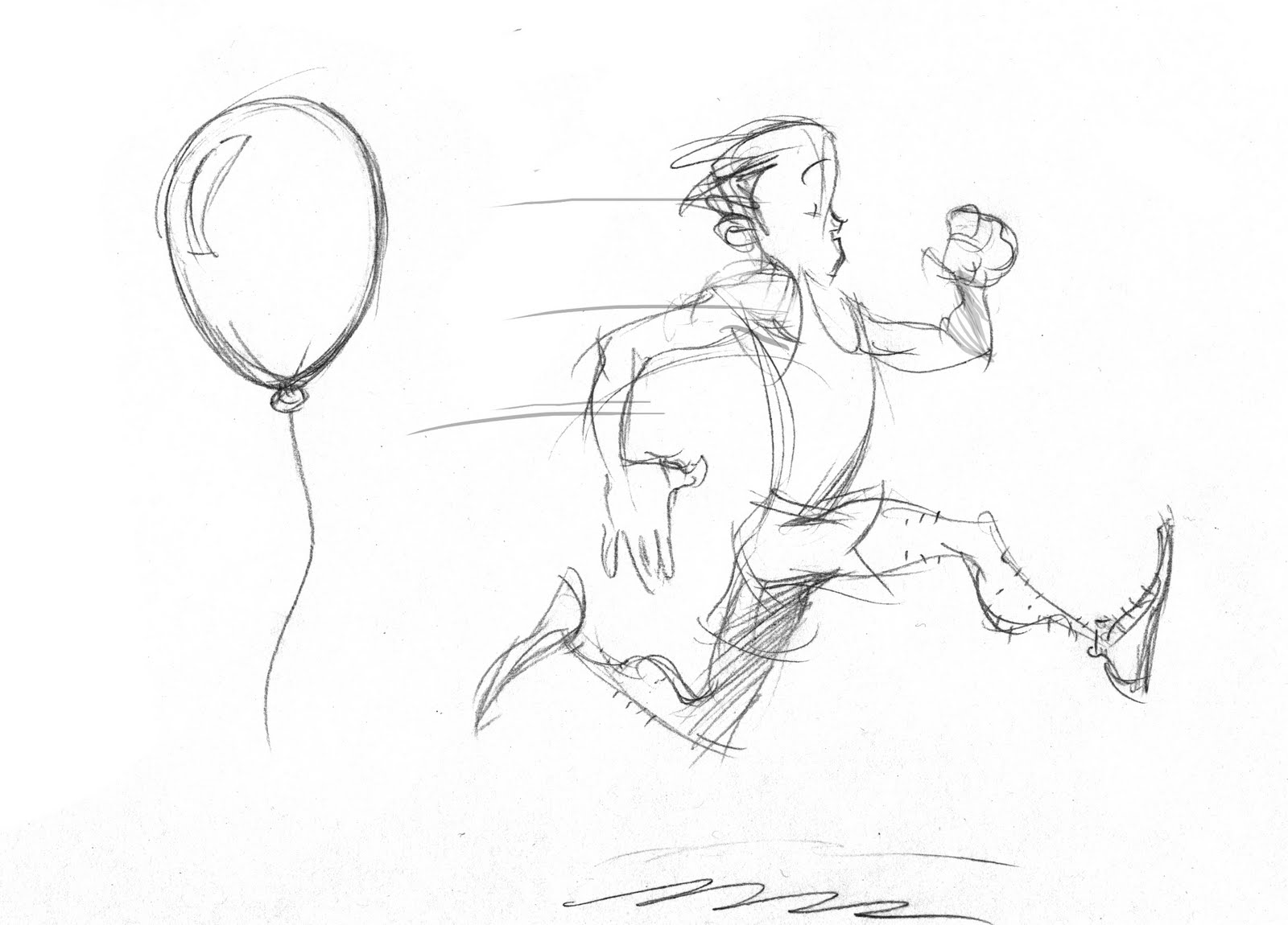 how to draw someone running sketch of someone running at paintingvalleycom explore how someone to running draw