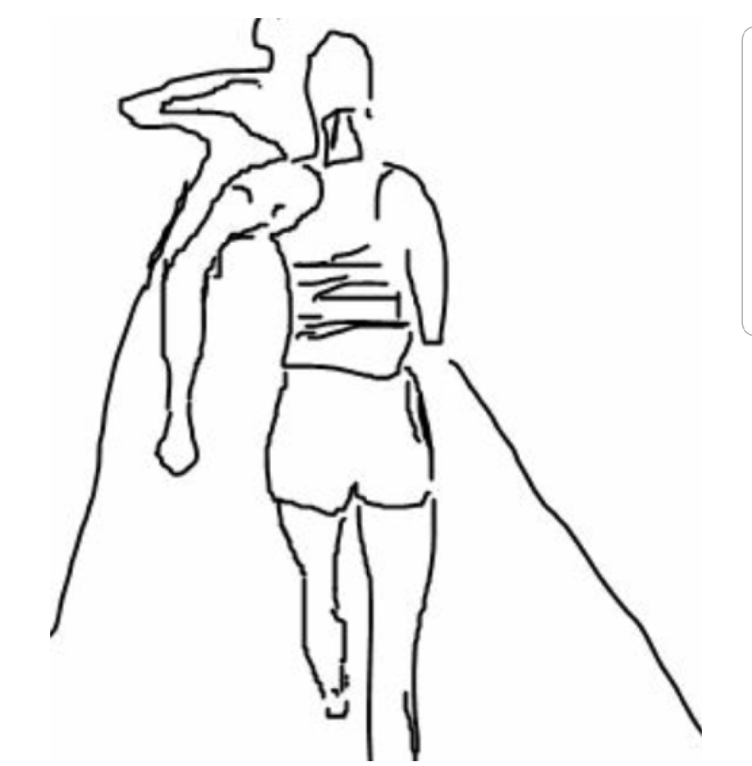 how to draw someone running stephen gilpin illustration june 2010 to running draw how someone