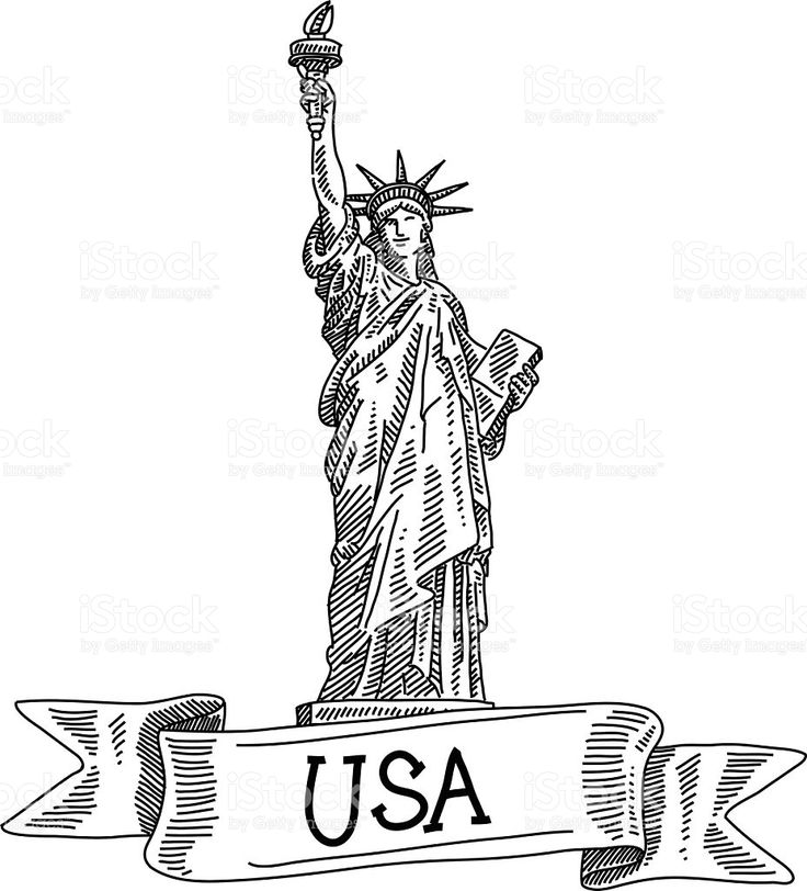 how to draw statue of liberty easy line drawing of statue of liberty usa it is single of liberty to statue draw how easy