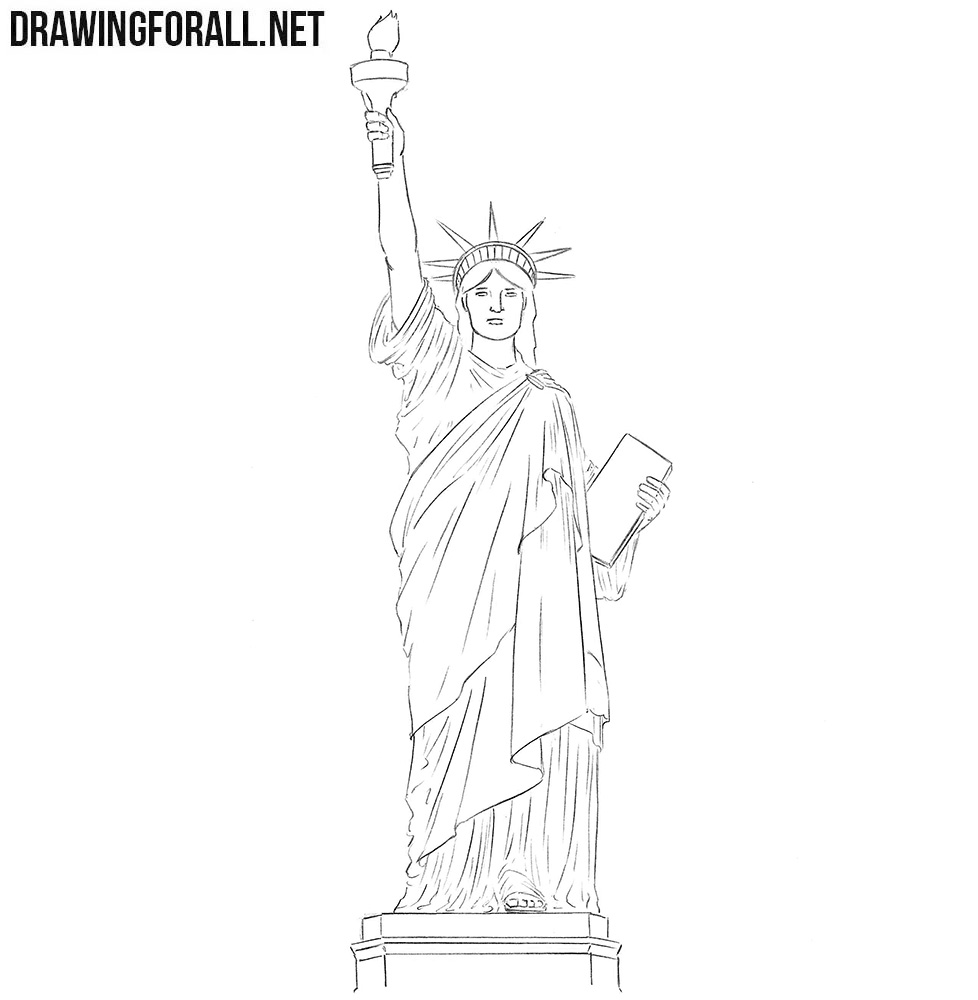 how to draw statue of liberty easy pin by katja on для до in 2020 statue of liberty of easy liberty statue to draw how