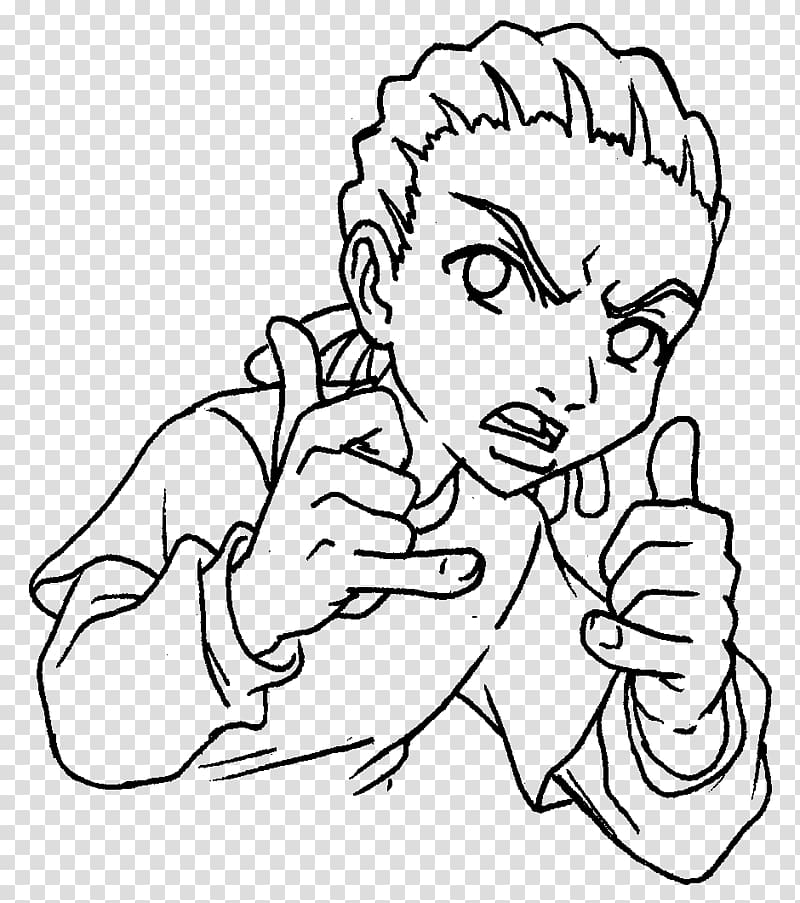 how to draw the boondocks boondocks coloring pages coloring home to the draw how boondocks