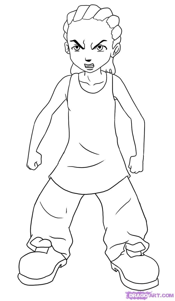 how to draw the boondocks boondocks riley coloring pages staging your home before how to draw boondocks the