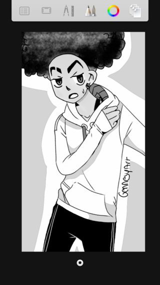 how to draw the boondocks huey freeman drawing at getdrawings free download draw how to boondocks the