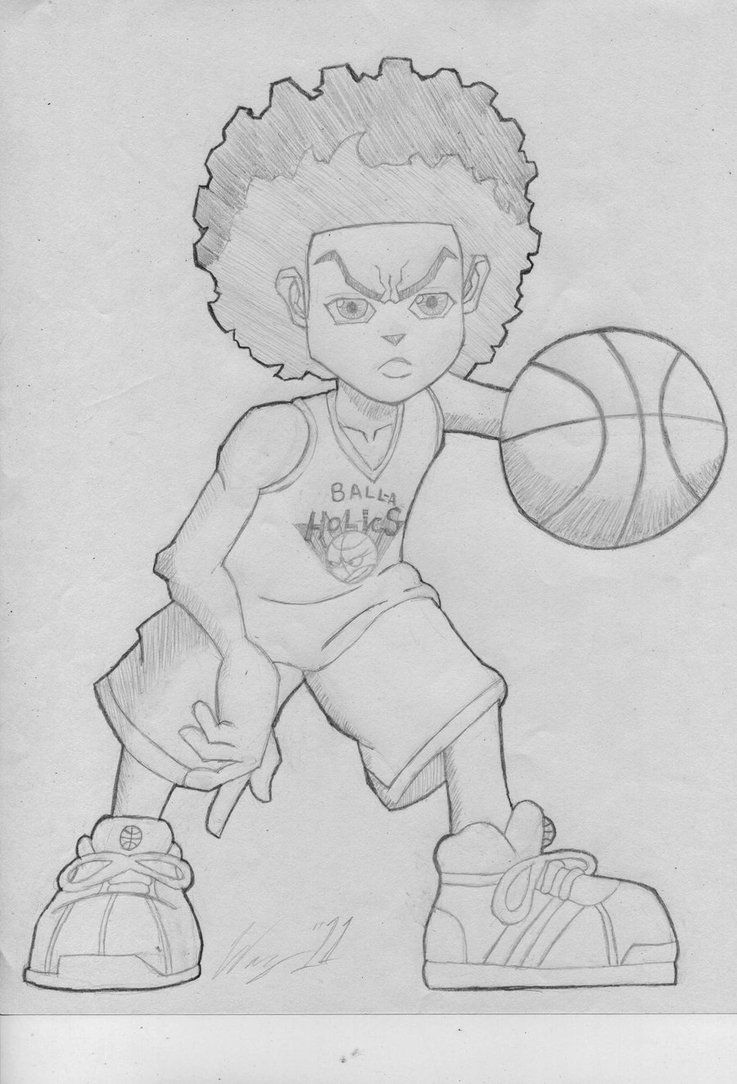 How to draw the boondocks