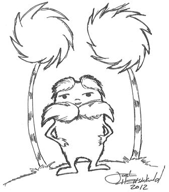 how to draw the lorax dr seuss characters coloring pages coloring for to the draw how lorax