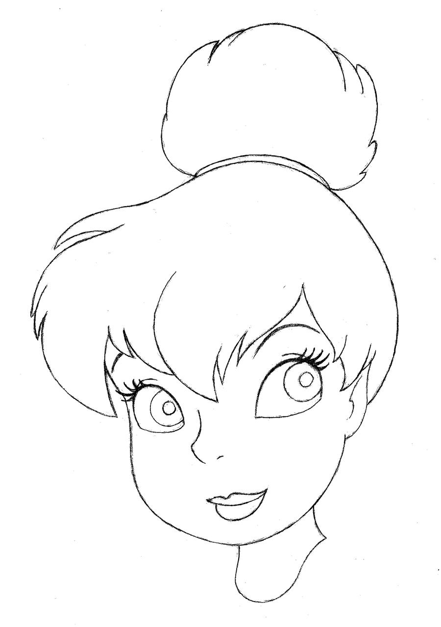 how to draw tinker bell tinkerbell portrait by kilowatts62 on deviantart draw bell how to tinker