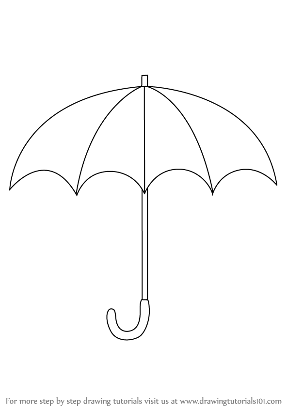 how to draw umbrella clipart panda free clipart images umbrella to draw how