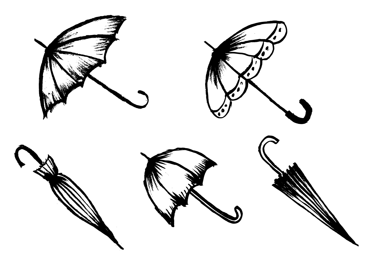 how to draw umbrella how to draw an umbrella art inspiration and projects draw umbrella to how