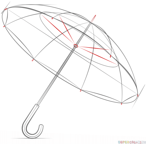 how to draw umbrella the best free umbrella drawing images download from 737 draw to how umbrella