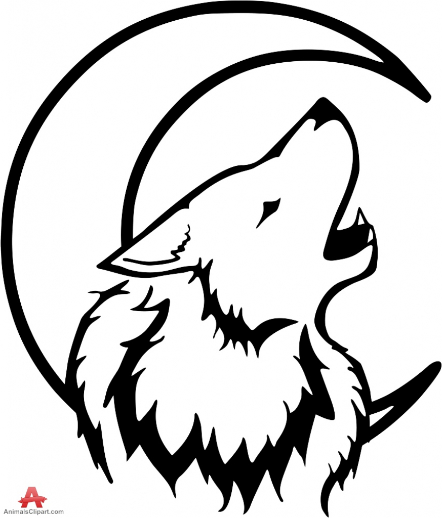 howling wolf drawing how to draw a wolf howling at the moon clipart best wolf drawing howling