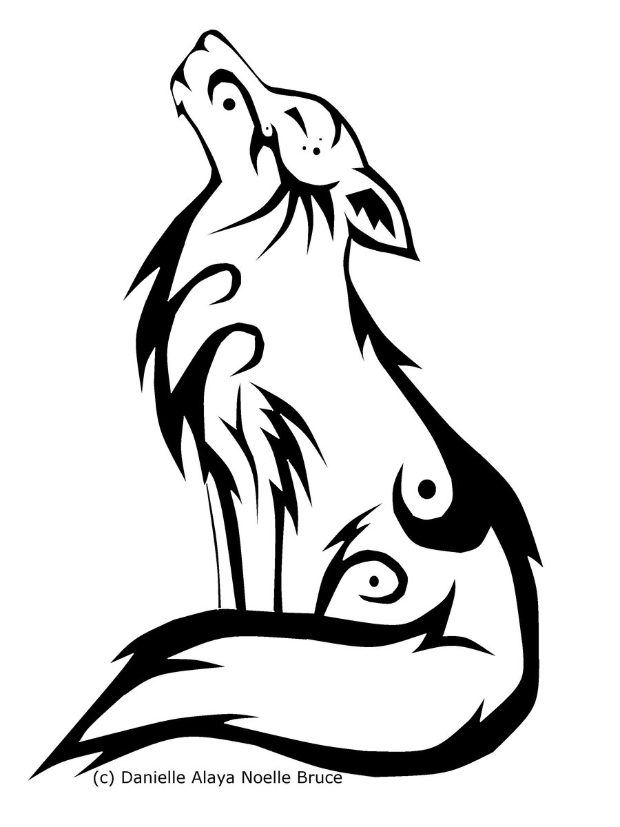 howling wolf drawing how to draw a wolf howling clipart best drawing howling wolf