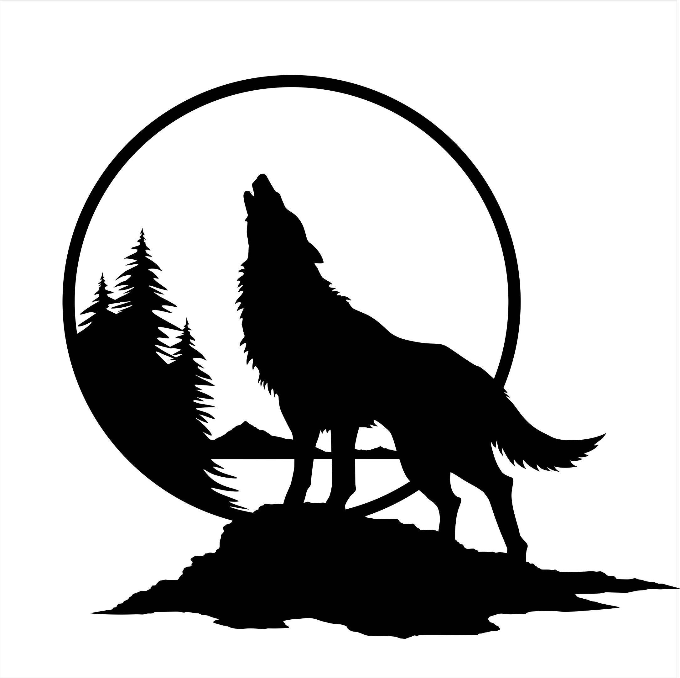howling wolf drawing how to draw a wolf lobo howling at the moon drawing drawing howling wolf
