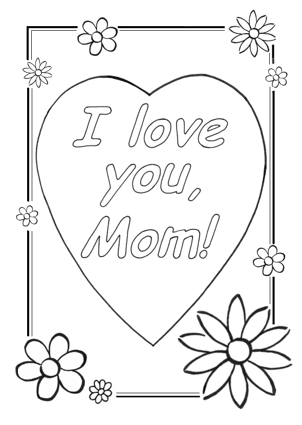 i love my mom coloring pages digital download quoti love you momquot coloring page mom mom love coloring pages i my