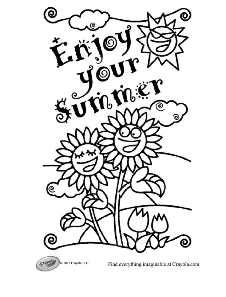 i love summer coloring pages 243 free summer coloring pages kids will love summer coloring love summer i pages