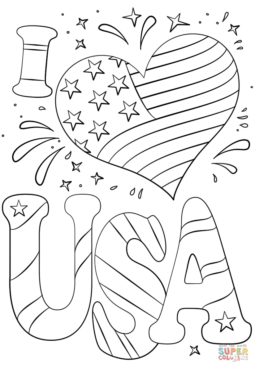 i love summer coloring pages i love usa coloring page free printable coloring pages coloring i summer love pages