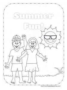 i love summer coloring pages summer fun coloring page love my big happy family pages love summer coloring i