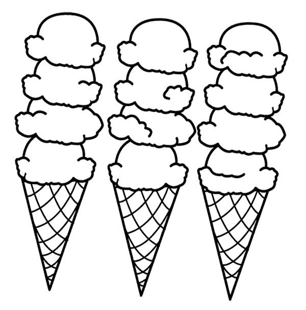 ice cream cone coloring page coloring page of a delicious ice cream cone coloring cone page cream ice coloring