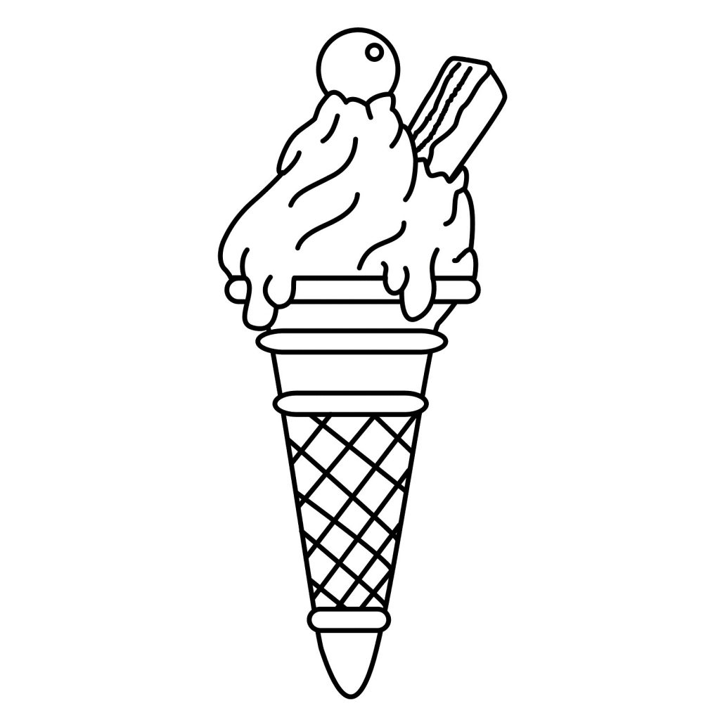 ice cream cone coloring page free printable ice cream coloring pages for kids cone cream ice page coloring