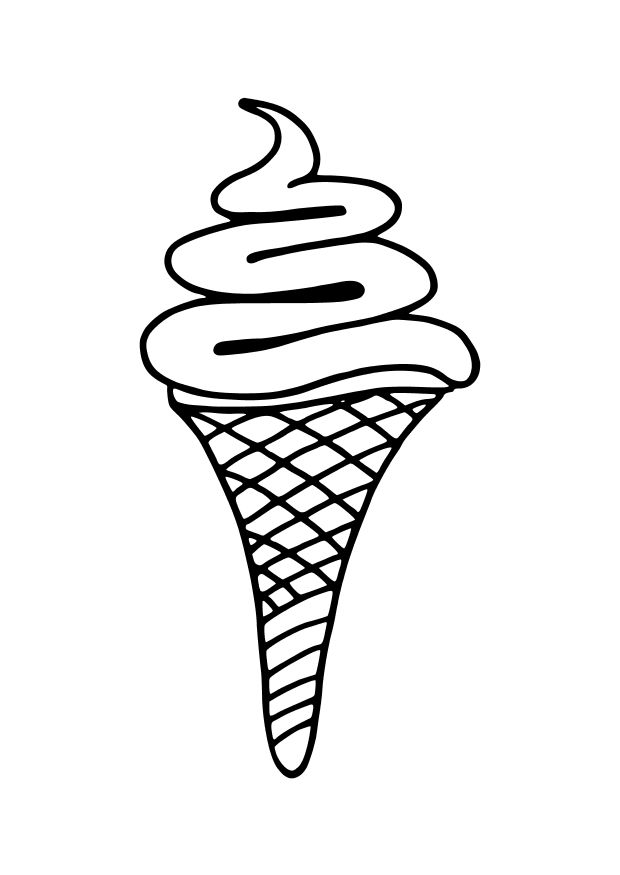 ice cream cone coloring page free printable ice cream coloring pages for kids cool2bkids cream coloring ice page cone