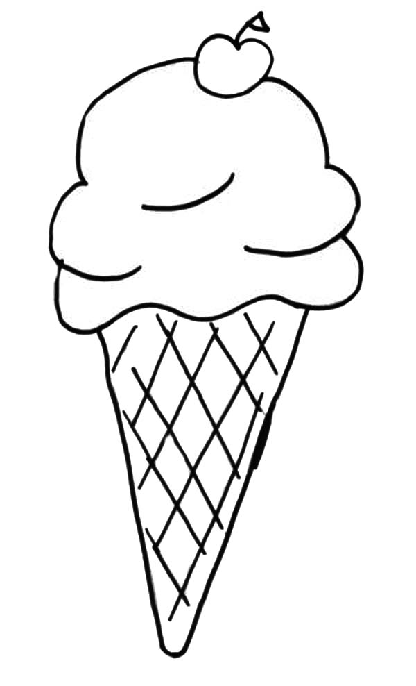 ice cream cone coloring page ice cream cone coloring more pages to color pinterest page ice cream cone coloring