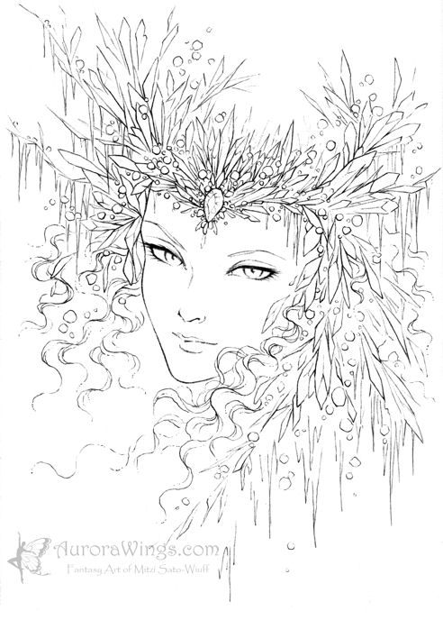 ice queen coloring pages gerda missed kay snow queen coloring page ice coloring queen pages