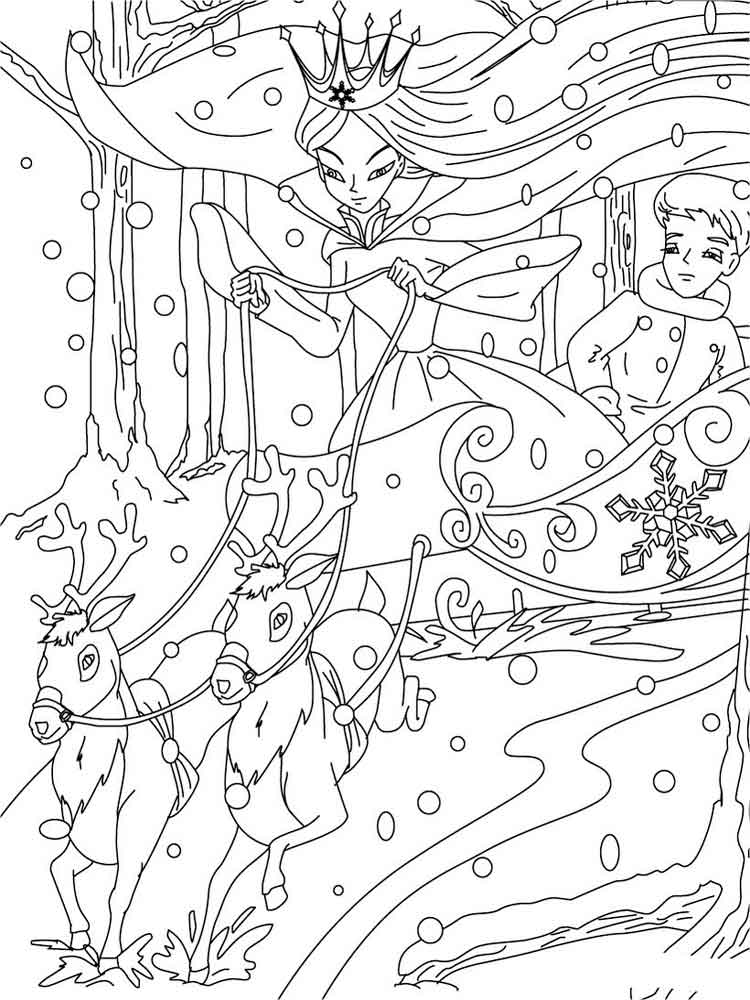 ice queen coloring pages the snow queen coloring pages free printable the snow coloring queen ice pages