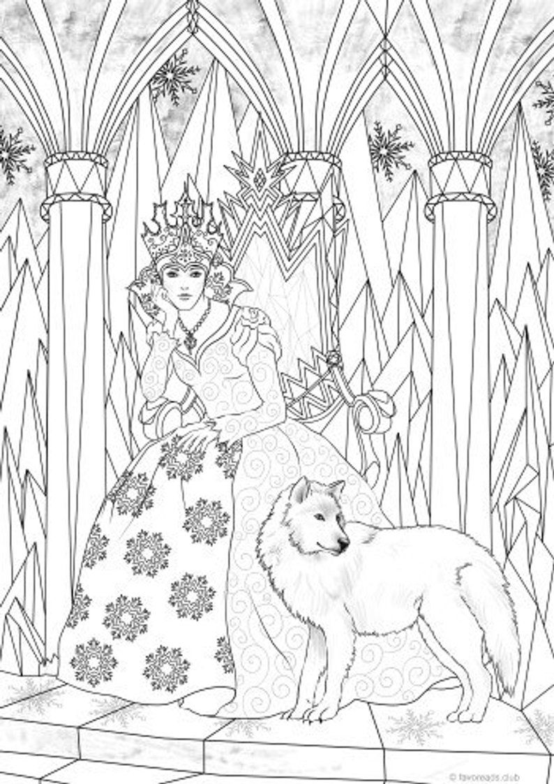 ice queen coloring pages the snow queen kolorowanki coloring pages print coloring pages ice coloring queen