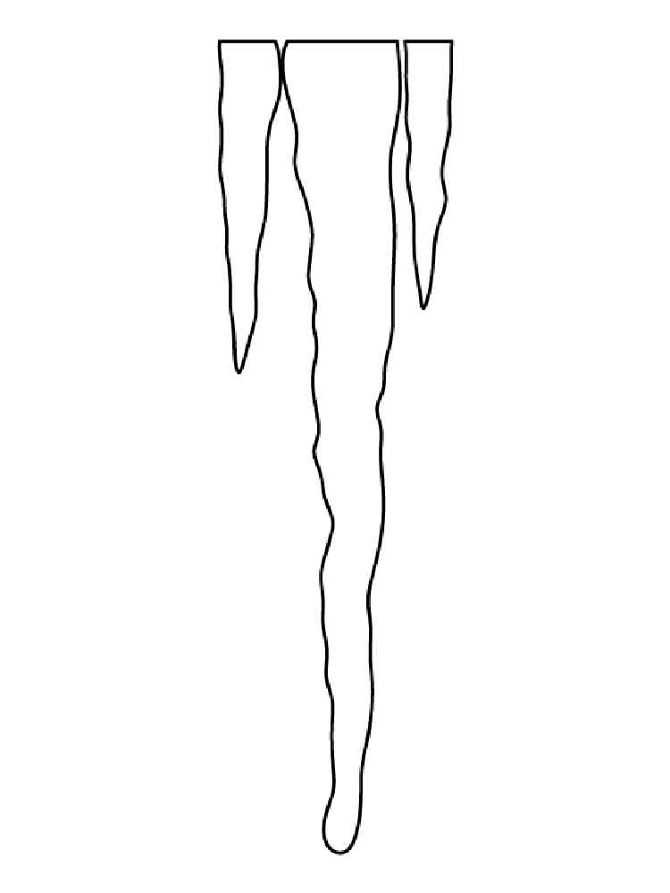 icicle coloring pages icicle pattern use the printable outline for crafts pages coloring icicle